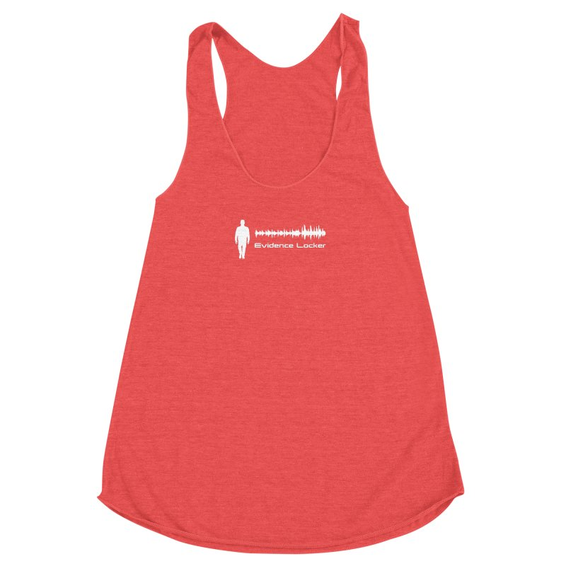 Evidence Locker Walker Wave Design Women's Racerback Triblend Tank by Evidence Locker Shop