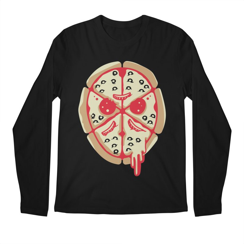 Pizza Friday Men's Longsleeve T-Shirt by EVILGOODS