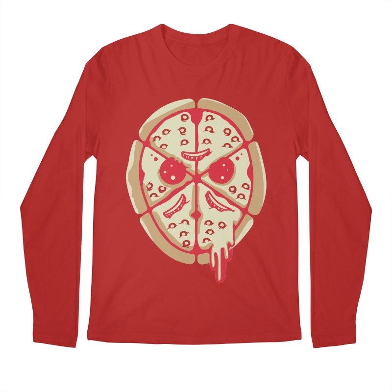 Pizza Friday Men's Longsleeve T-Shirt by EVILGOODS
