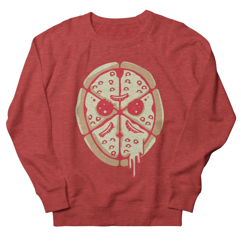 Pizza Friday Men's Sweatshirt by EVILGOODS