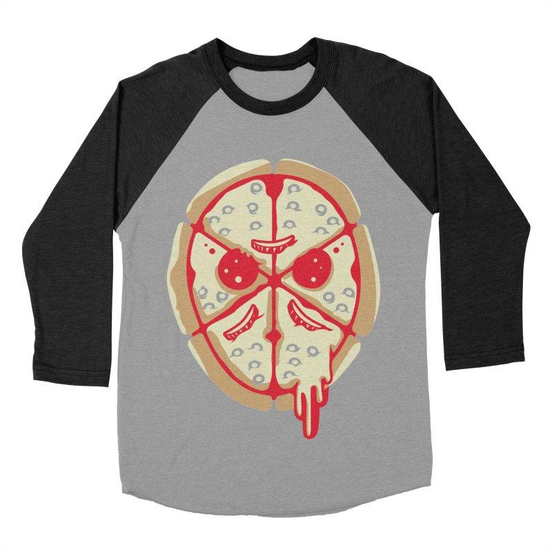 Pizza Friday Men's Baseball Triblend T-Shirt by EVILGOODS