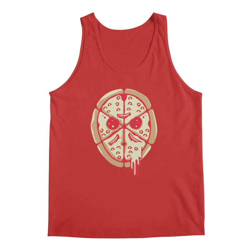 Pizza Friday Men's Tank by EVILGOODS