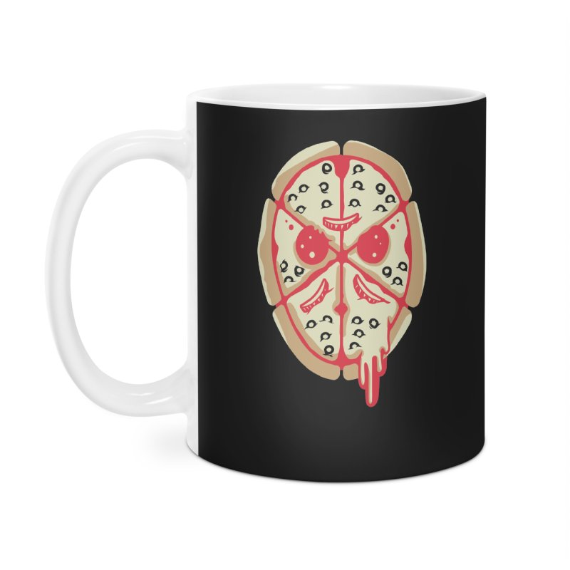 Pizza Friday Accessories Mug by EVILGOODS