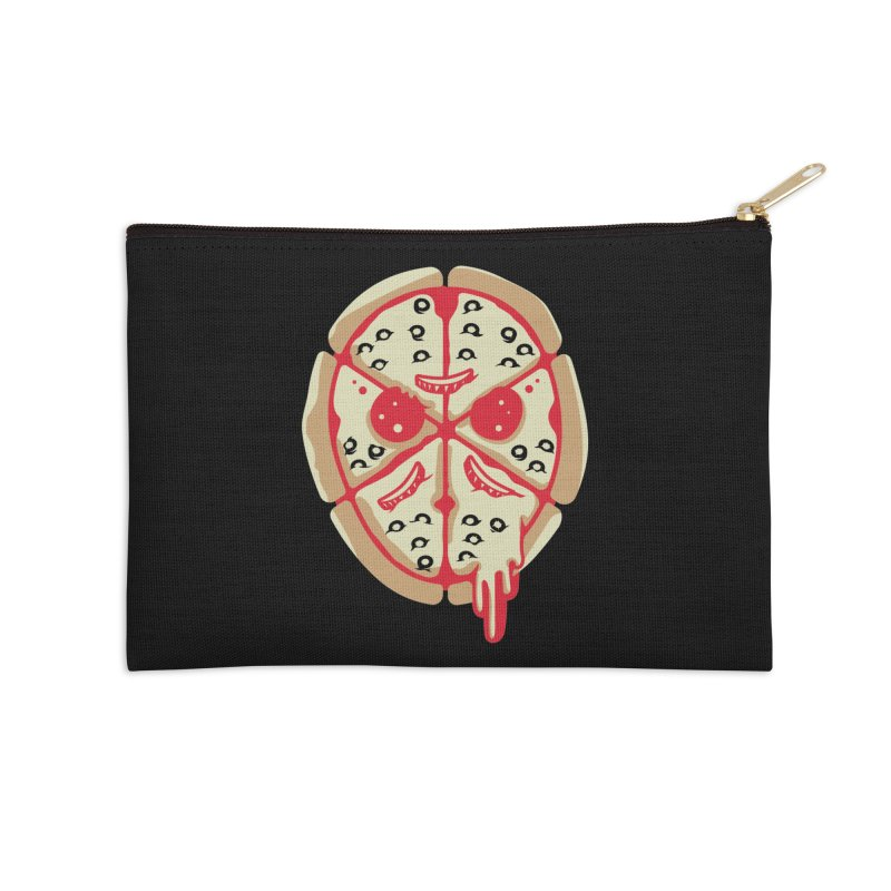 Pizza Friday Accessories Zip Pouch by EVILGOODS
