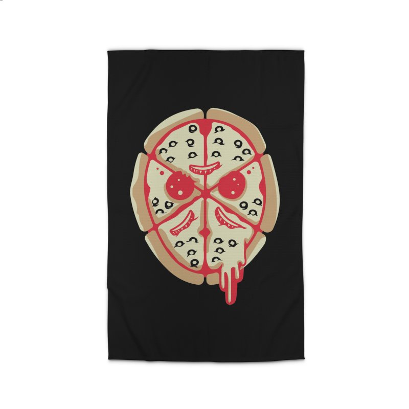 Pizza Friday Home Rug by EVILGOODS
