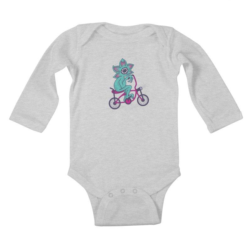 Cyclogorgon Kids Baby Longsleeve Bodysuit by EVILGOODS
