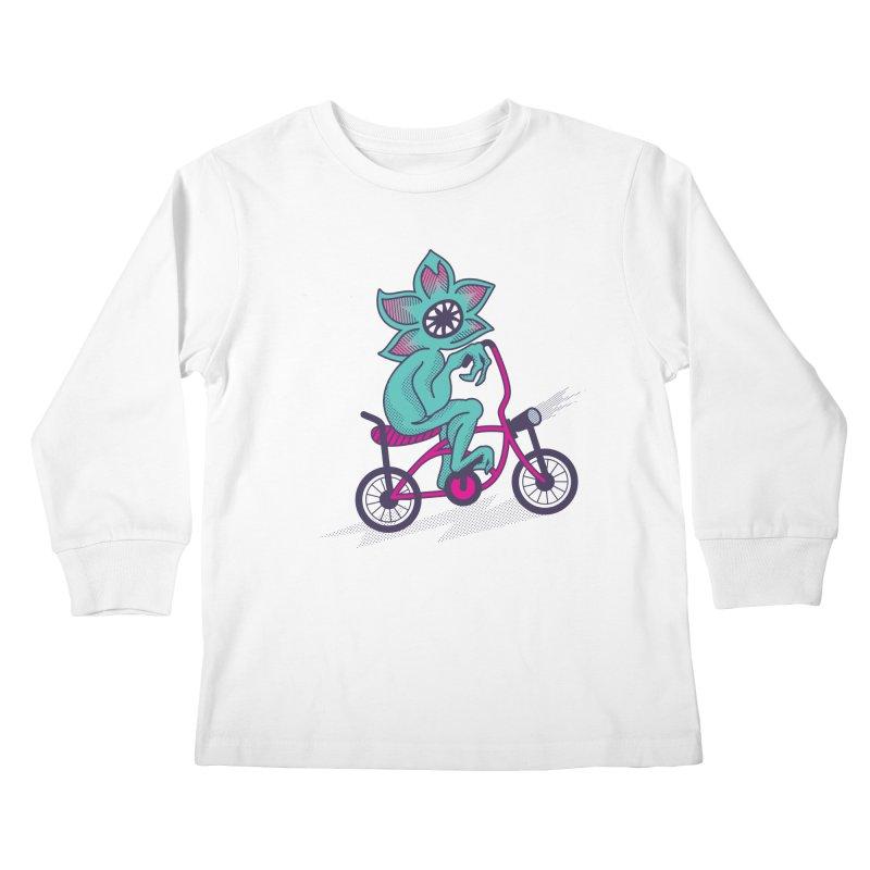 Cyclogorgon Kids Longsleeve T-Shirt by EVILGOODS