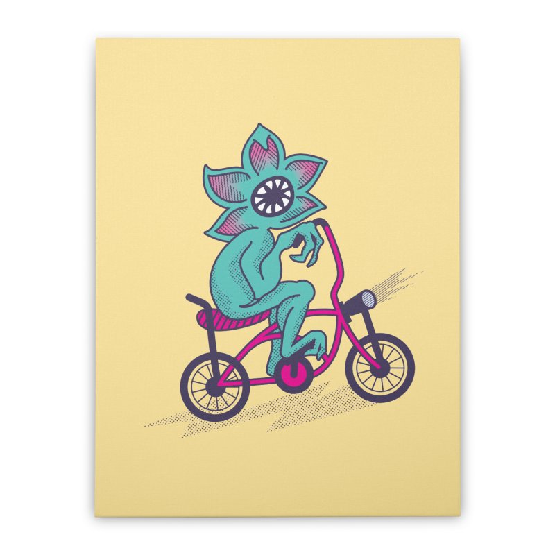 Cyclogorgon Home Stretched Canvas by EVILGOODS