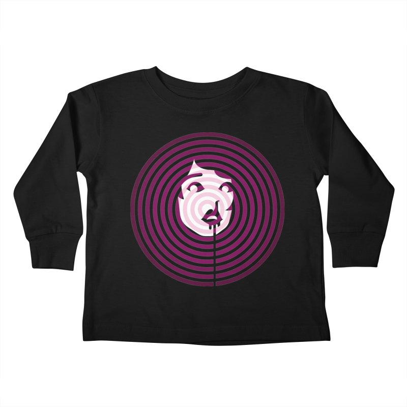 Darling! Kids Toddler Longsleeve T-Shirt by EVILGOODS