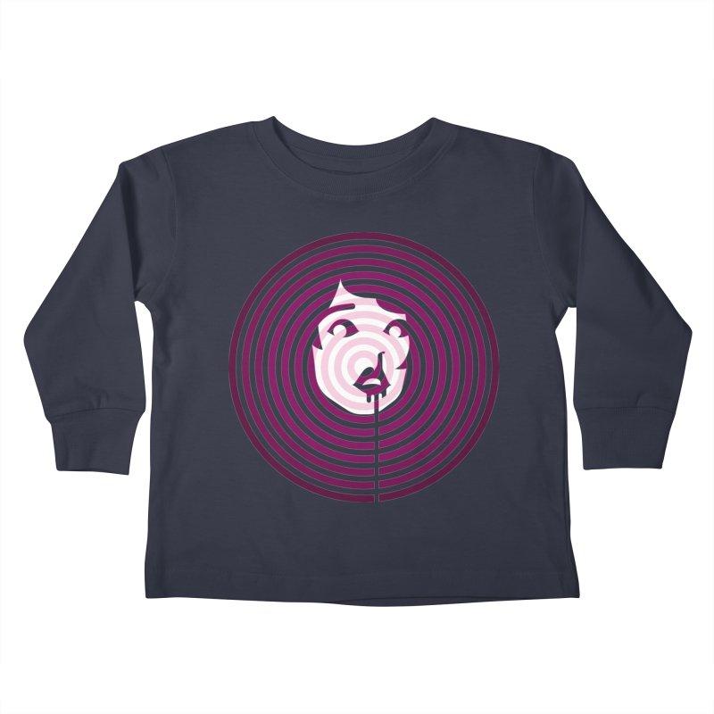 Darling! Kids Toddler Longsleeve T-Shirt by EVILGOODS