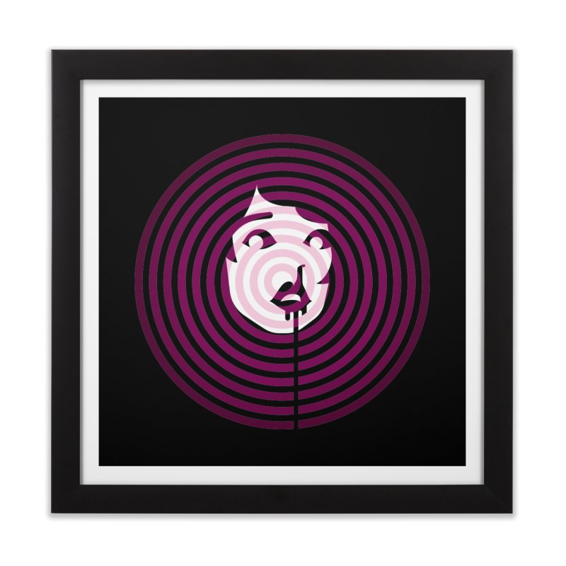 Darling! Home Framed Fine Art Print by EVILGOODS