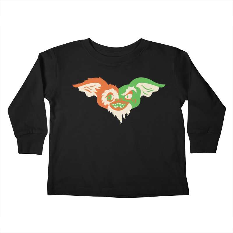MoGremlin Kids Toddler Longsleeve T-Shirt by EVILGOODS