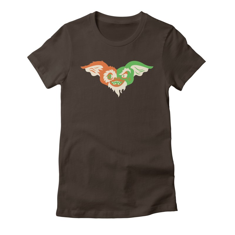 MoGremlin Women's Fitted T-Shirt by EVILGOODS