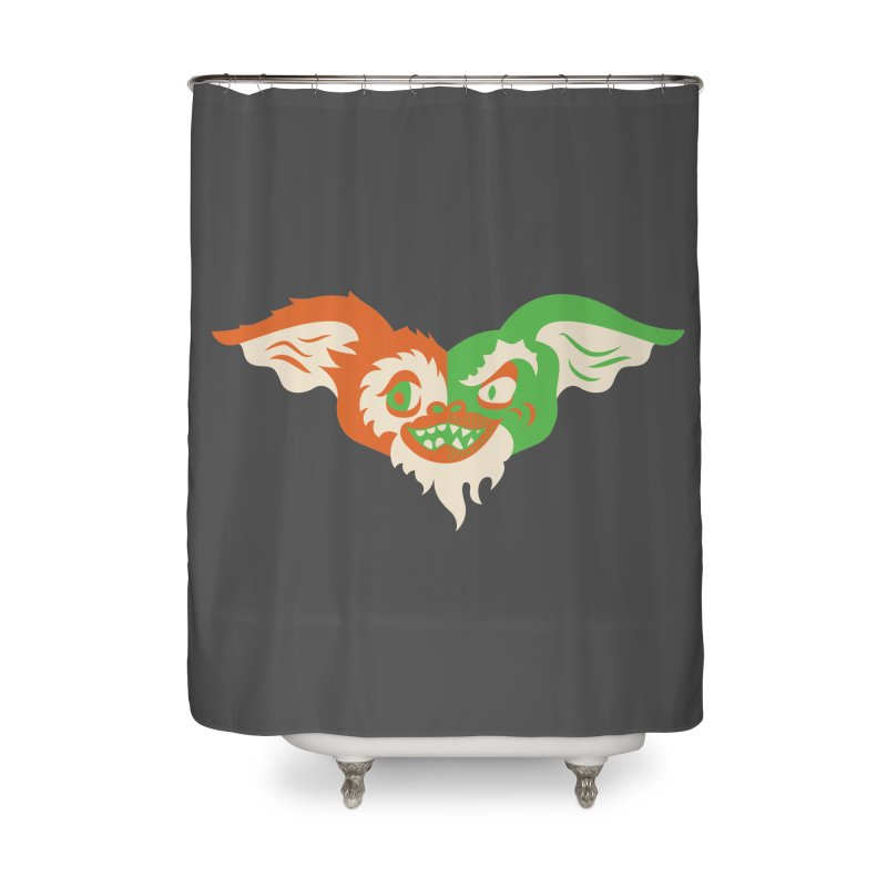 MoGremlin Home Shower Curtain by EVILGOODS