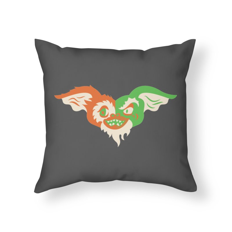 MoGremlin Home Throw Pillow by EVILGOODS