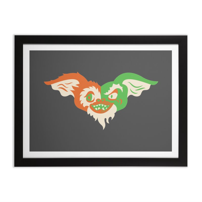 MoGremlin Home Framed Fine Art Print by EVILGOODS