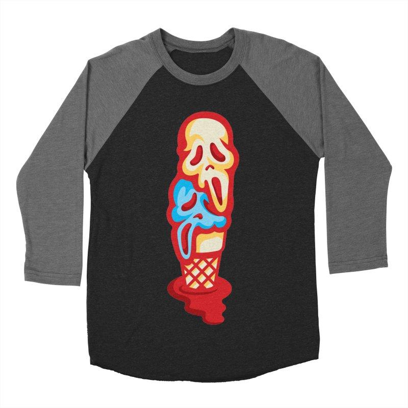 IceScream Women's Baseball Triblend T-Shirt by EVILGOODS