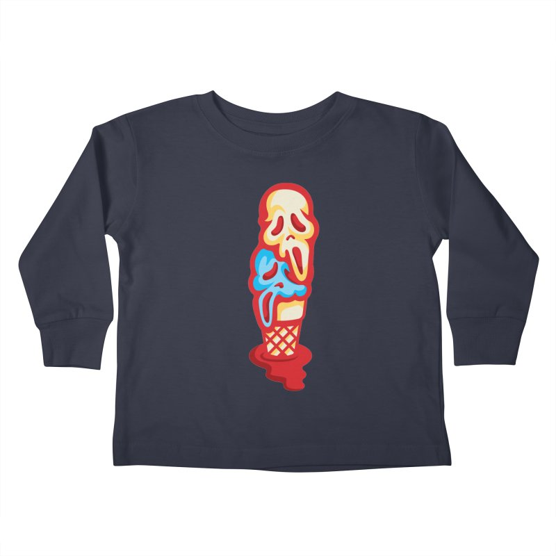 IceScream Kids Toddler Longsleeve T-Shirt by EVILGOODS