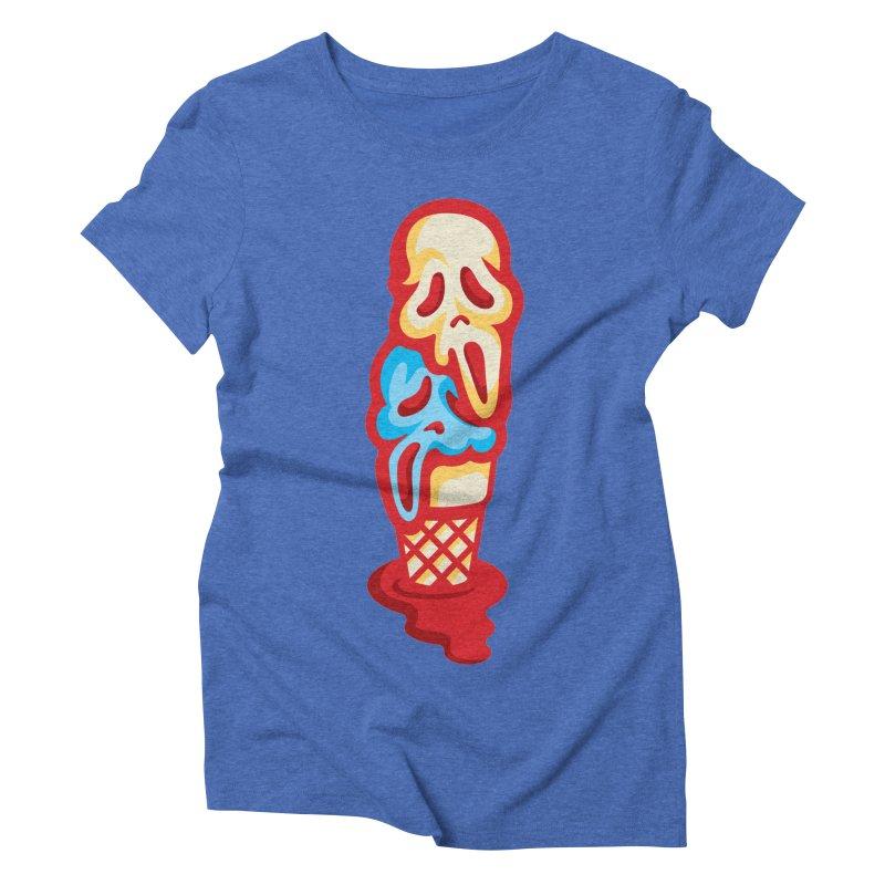 IceScream Women's Triblend T-shirt by EVILGOODS