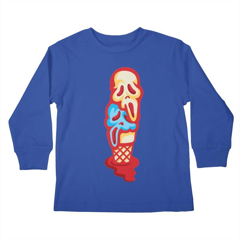 IceScream Kids Longsleeve T-Shirt by EVILGOODS