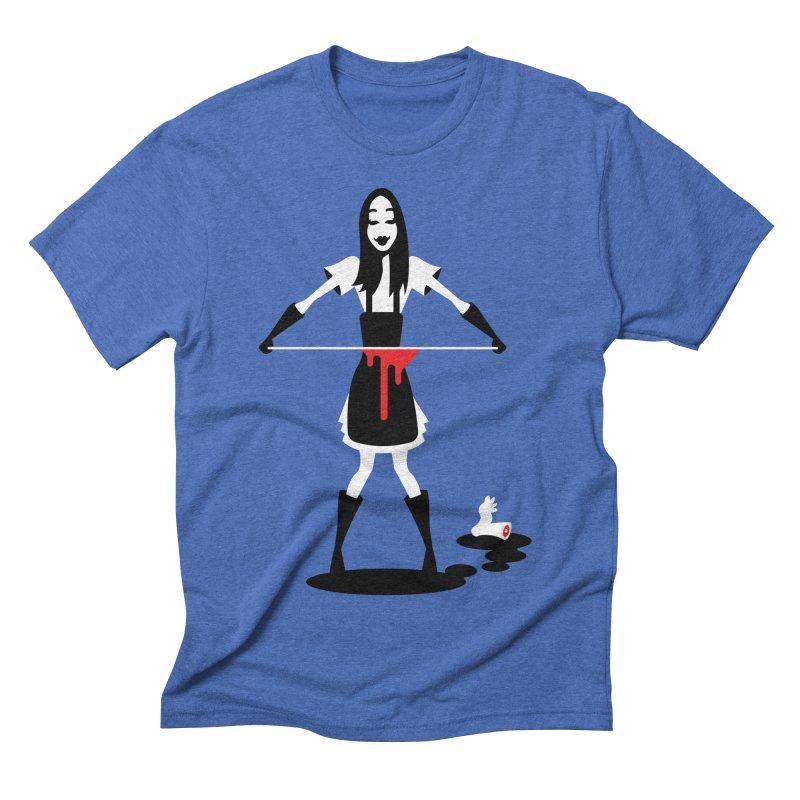Femmes of Fright - Asama! Men's Triblend T-Shirt by EVILGOODS