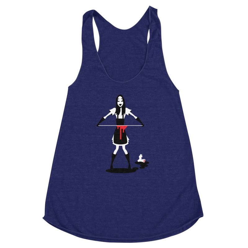 Femmes of Fright - Asama! Women's Racerback Triblend Tank by EVILGOODS