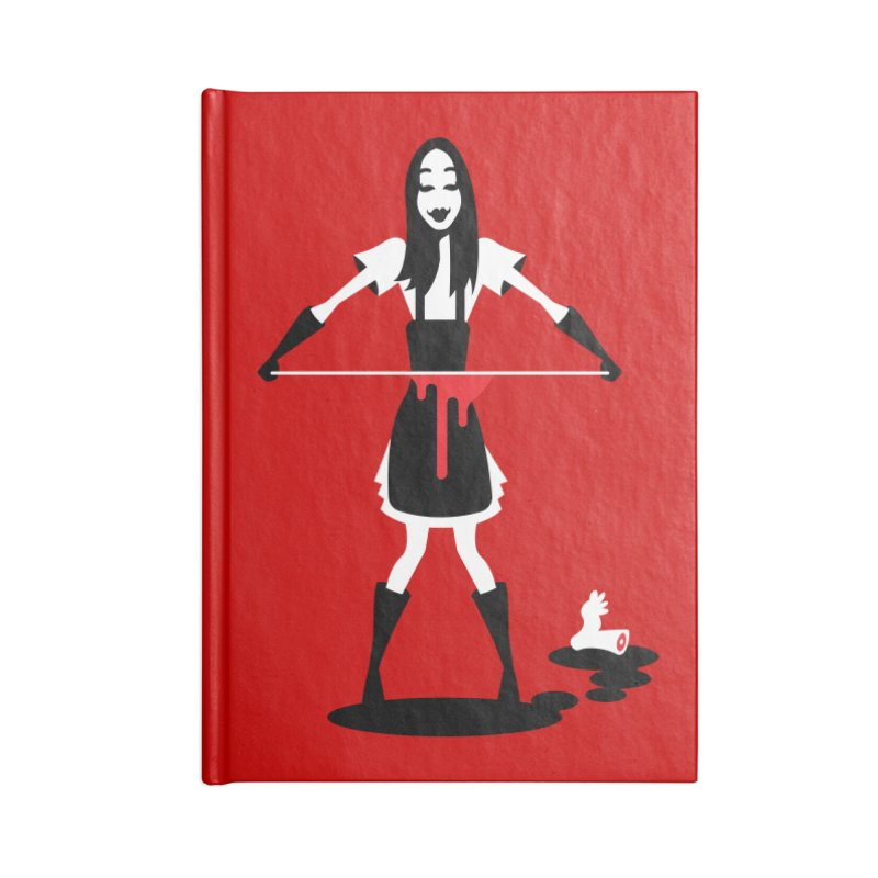 Femmes of Fright - Asama! Accessories Notebook by EVILGOODS