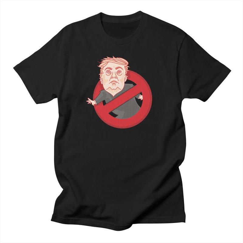 TrumpBusters Men's T-Shirt by EVILGOODS