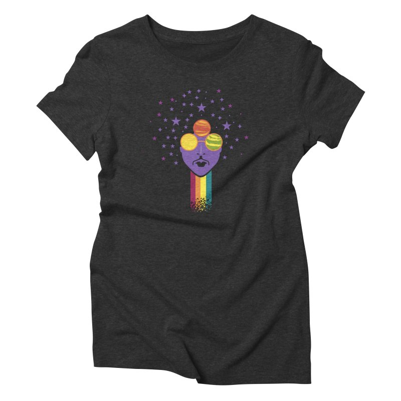 Safe Journey Women's Triblend T-shirt by EVILGOODS