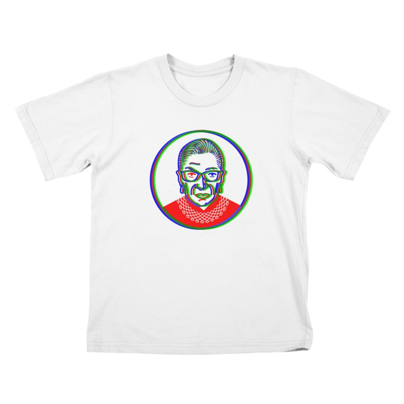 RBG in RGB Kids T-shirt by EVILGOODS