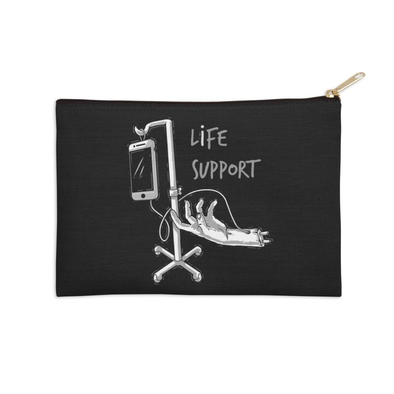 Life Support Accessories Zip Pouch by eviliv's Artist Shop