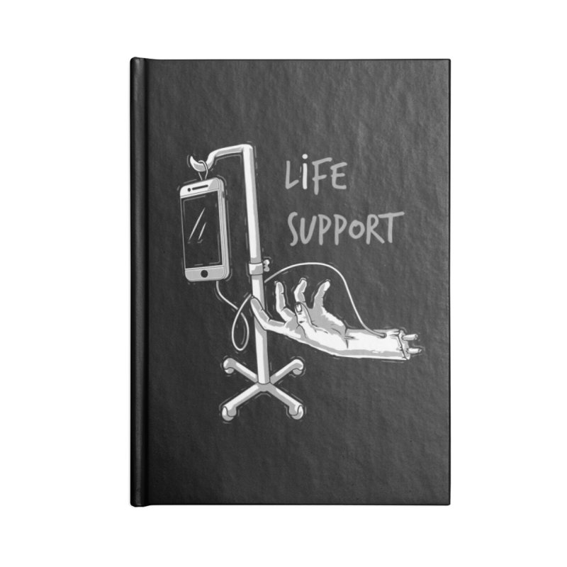 Life Support Accessories Notebook by eviliv's Artist Shop