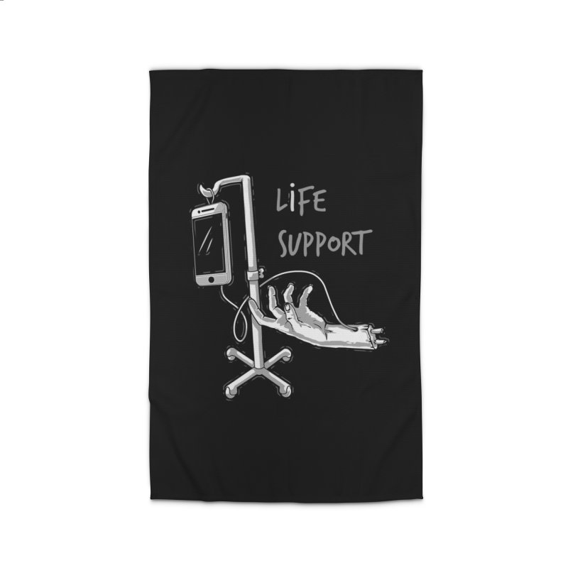 Life Support Home Rug by eviliv's Artist Shop
