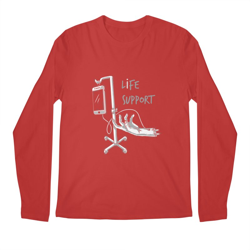Life Support Men's Longsleeve T-Shirt by eviliv's Artist Shop