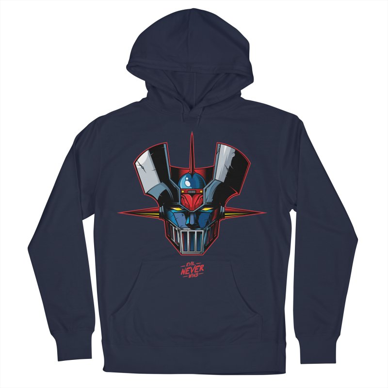 Classic Mecha MZ Men's Pullover Hoody by evilneverwins's Artist Shop