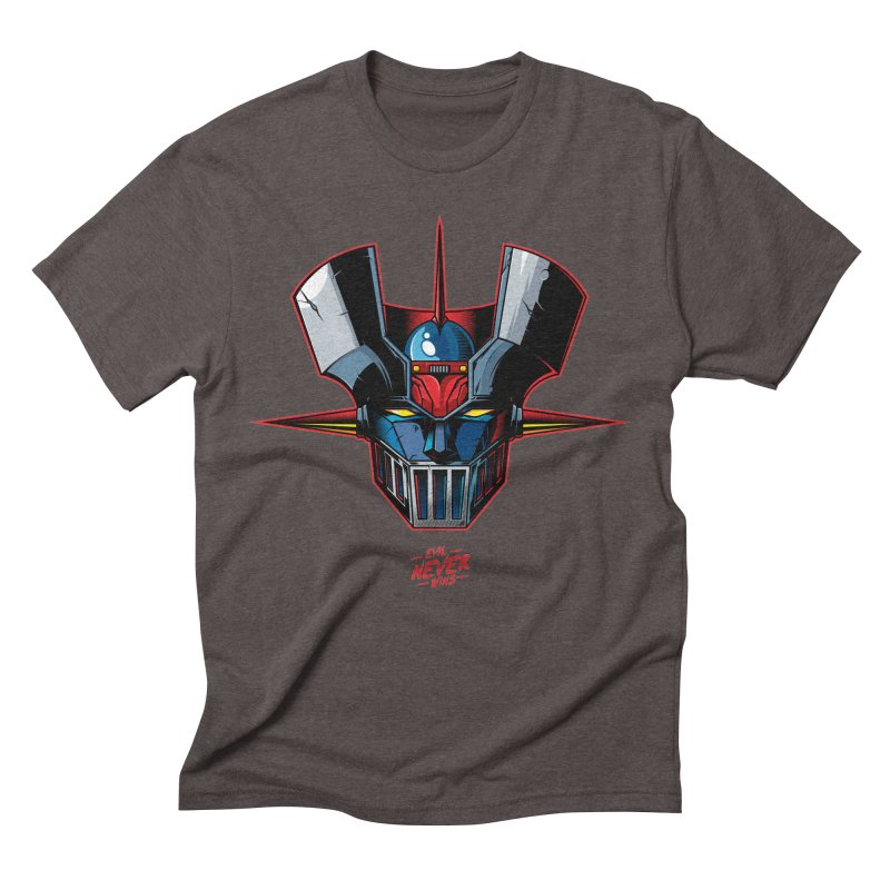 Classic Mecha MZ Men's Triblend T-Shirt by evilneverwins's Artist Shop