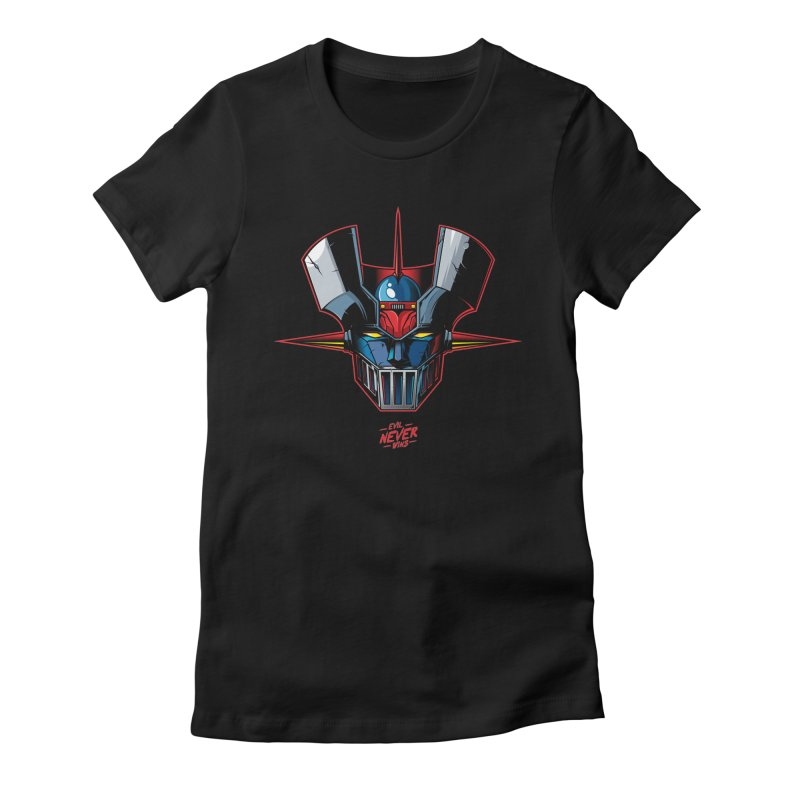 Classic Mecha MZ Women's Fitted T-Shirt by evilneverwins's Artist Shop