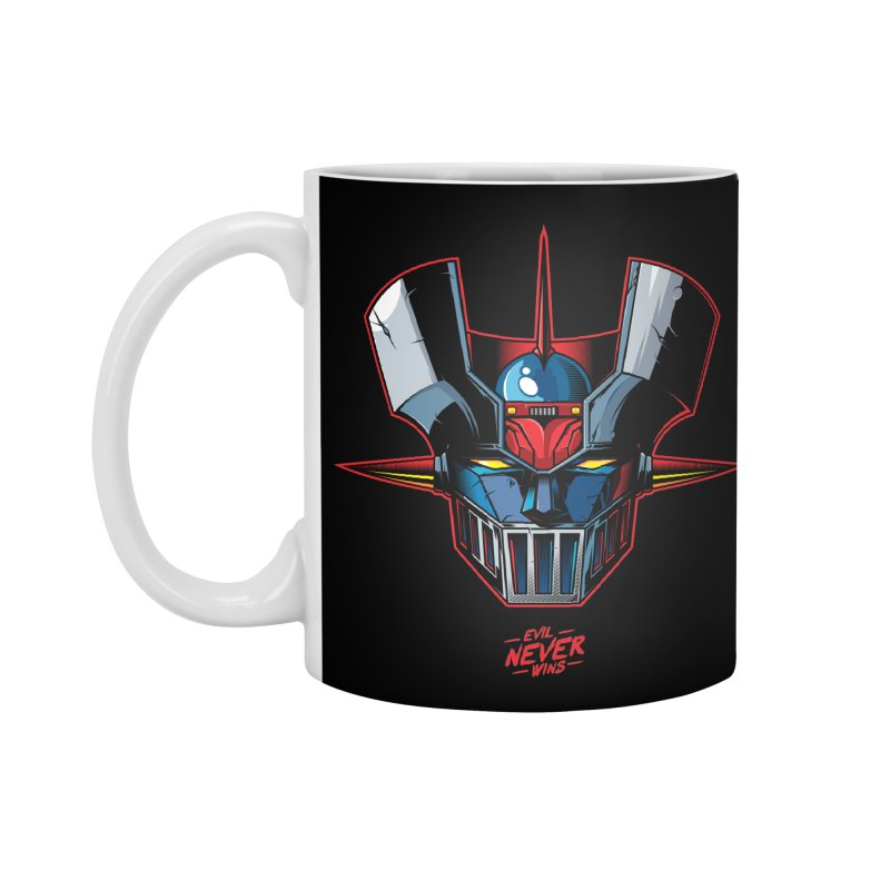 Classic Mecha MZ Accessories Mug by evilneverwins's Artist Shop