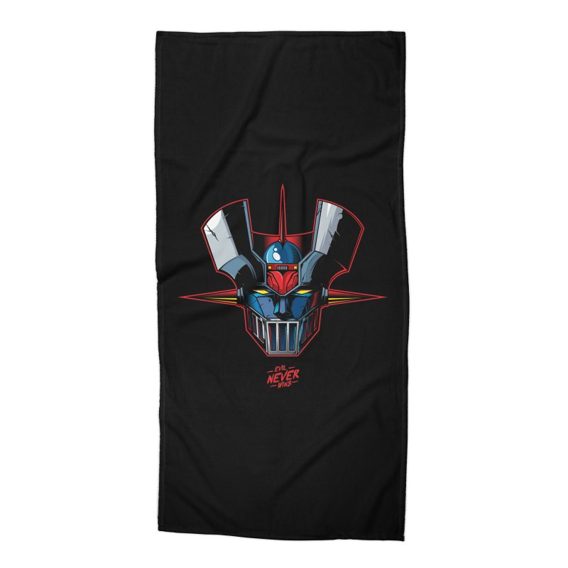 Classic Mecha MZ Accessories Beach Towel by evilneverwins's Artist Shop