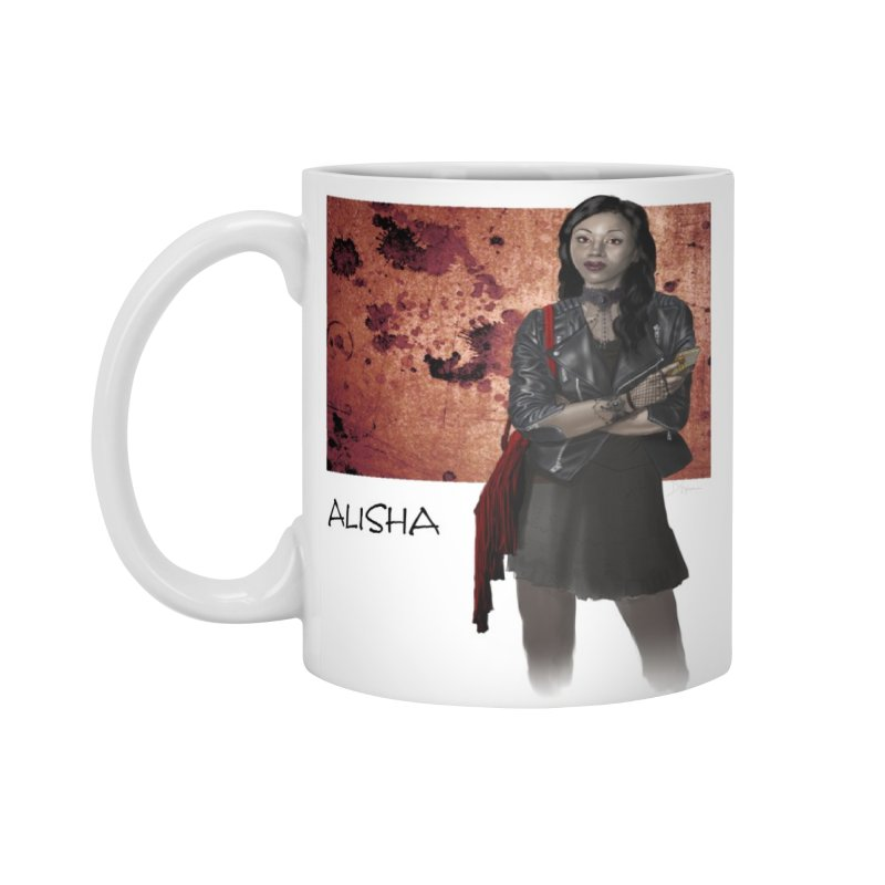 Vampire companion - Alisha Mug Accessories Mug by Evil Overlord Games - The Shop!