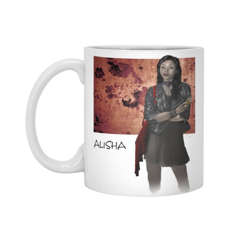 Vampire companion - Alisha Mug in Standard Mug White by Evil Overlord Games - The Shop!