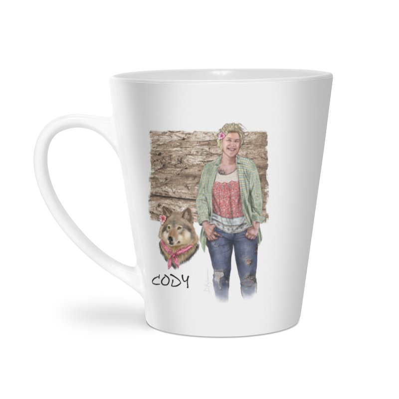 Werewolf companion - Cody Mug Accessories Latte Mug by Evil Overlord Games - The Shop!