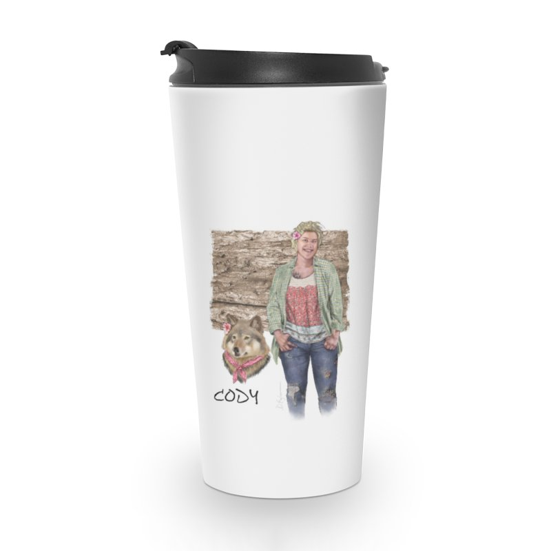 Werewolf companion - Cody Mug Accessories Travel Mug by Evil Overlord Games - The Shop!