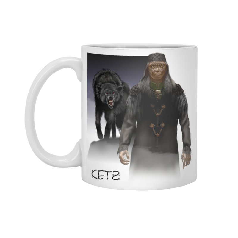 Susurrus Werewolf (Ketz) mug in Standard Mug White by Evil Overlord Games - The Shop!