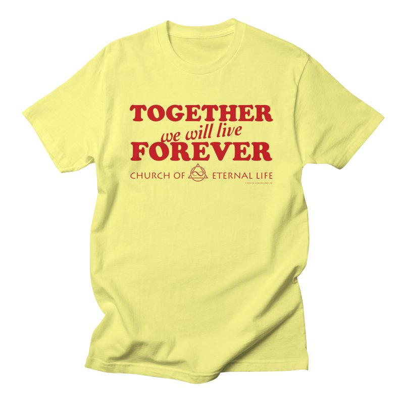 Together Forever - Church of Eternal Life Women's T-Shirt by Evil Overlord Games - The Shop!