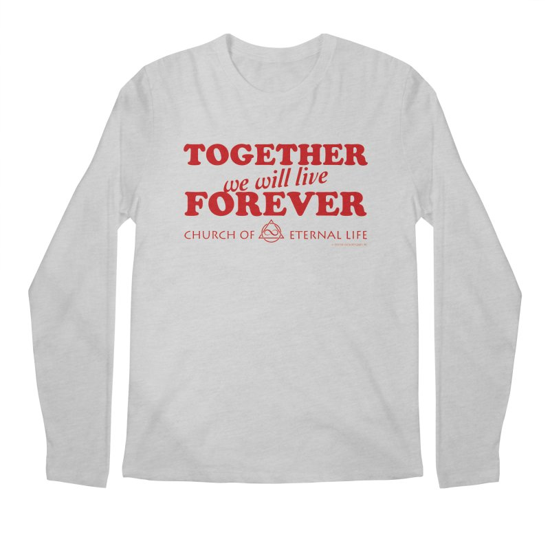Together Forever - Church of Eternal Life Men's Longsleeve T-Shirt by Evil Overlord Games - The Shop!