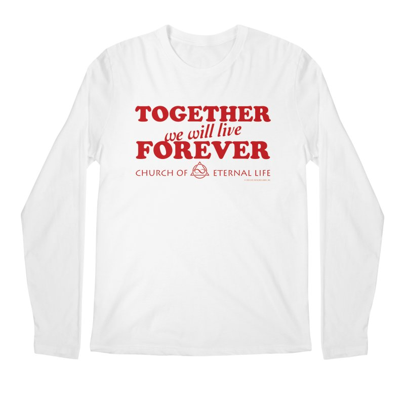 Together Forever - Church of Eternal Life Men's Regular Longsleeve T-Shirt by Evil Overlord Games - The Shop!