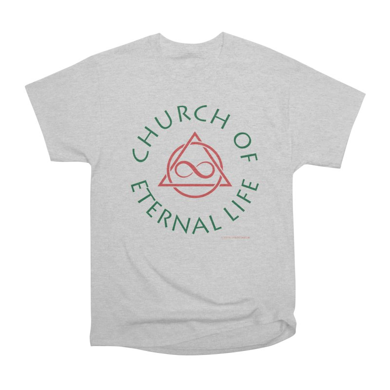 Church of Eternal Life logo Men's Heavyweight T-Shirt by Evil Overlord Games - The Shop!