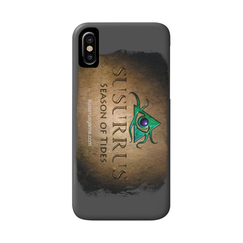 Susurrus Stone Logo in iPhone X / XS Phone Case Slim by Evil Overlord Games - The Shop!