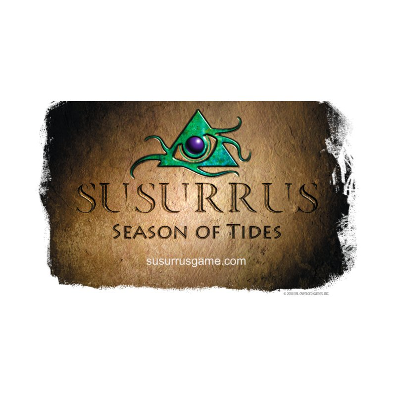 Susurrus Stone Logo Men's V-Neck by Evil Overlord Games - The Shop!